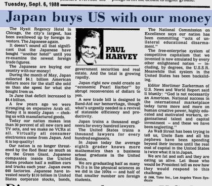Japan buys US