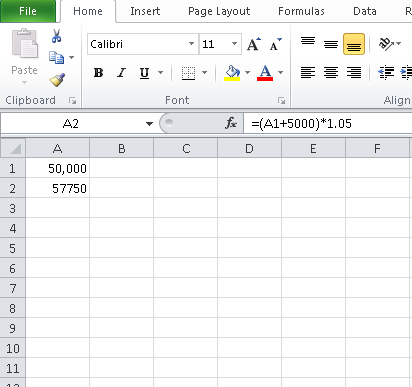 Excel Planning
